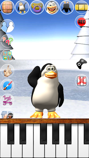 Sweet Little Talking Penguin apkpoly screenshots 2