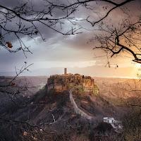 L'alba di Civita di