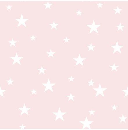 Arthouse Diamond Glittrig tapet med stjarnor ART329 - Rosa