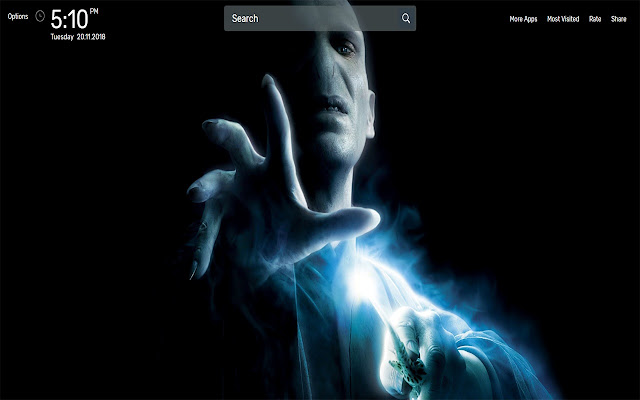 Harry Potter Movie Wallpapers NewTab Theme