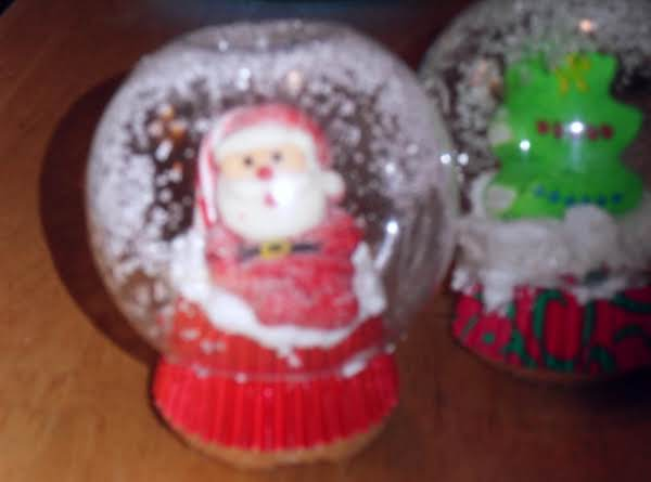 Snow Globe Cupcakes Recipe