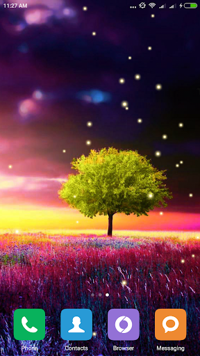 Awesome-Land Live wallpaper HD : Grow more trees screenshots 8