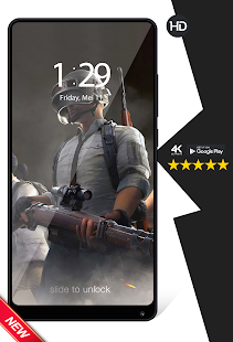 Download App Cool Player's Battlegrounds Game Wallpapers HD APK