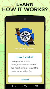Download Video Recovery : Scan Deleted Lost Videos Restore For PC Windows and Mac apk screenshot 3