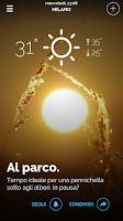Screenshot of Meteo.it
