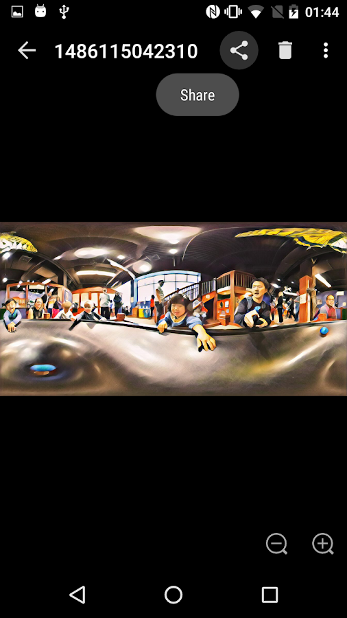 meta360: Photosphere XMP Tagger- screenshot