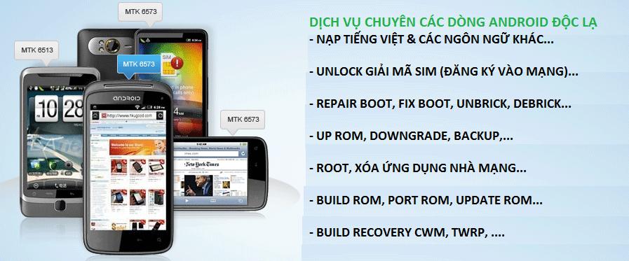 Điện thoại/Tablet - Dịch Vụ Chuyên Unlock Giải Mã Bẻ Khóa