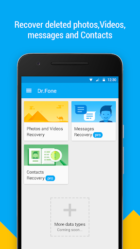 Dr.Fone Premium – Recover deleted data v1.4.0.95