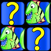 Fish Card Matching Games free