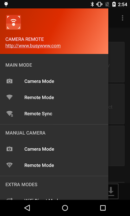 Camera Remote- screenshot
