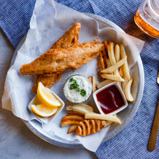 Vegan Fish & Chips.