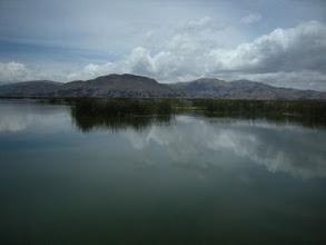 Photo: チチカカ湖 インカ文明より前から文明が栄えていた地域