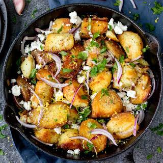 Greek Potato Hash.