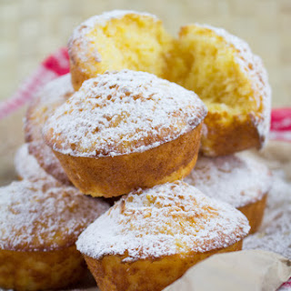 Pineapple, Lime and Coconut Muffins