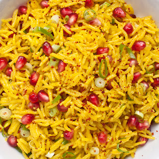 Spiced Pomegranate Rice