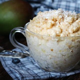 Mango Almond Coconut Breakfast Rice (V,GF).
