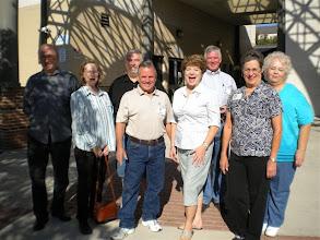 Photo: John Jones, Ann (McLean) Richards, Bill Boon, Terry Dietz, Lyn (Reeves) Griffiths, Tom Sumner, Carol (Craven) Barnes, Rosemary (Worthy) Dooley
