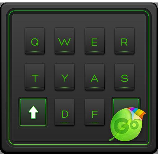 Green Glow GO Keyboard Theme