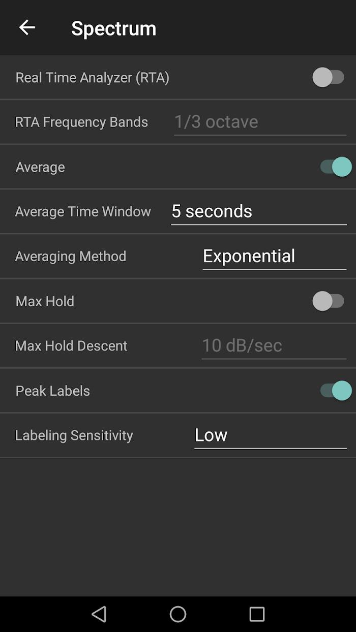 Audizr Pro - Spectrum Analyzer v0 9 8 For Android APK