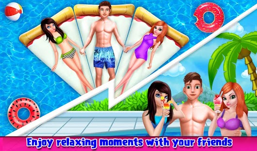 My Teen Love Story Summer Pool Party Affair- screenshot thumbnail