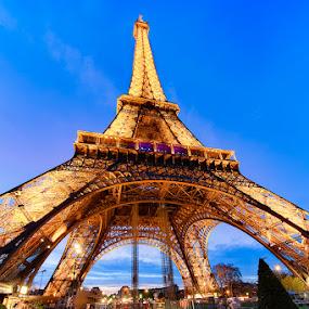 Tour Eiffel by Luca Libralato - Buildings & Architecture Statues & Monuments ( paris, tour eiffel, tower, france, tour )
