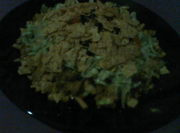 Mac & Cheese Taco Salad Recipe