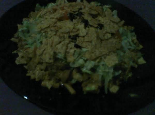 Mac & Cheese Taco Salad