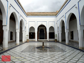 Photo: one of the interior courtyards of Bahia Palace