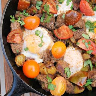 Steak and Eggs Hash Recipe