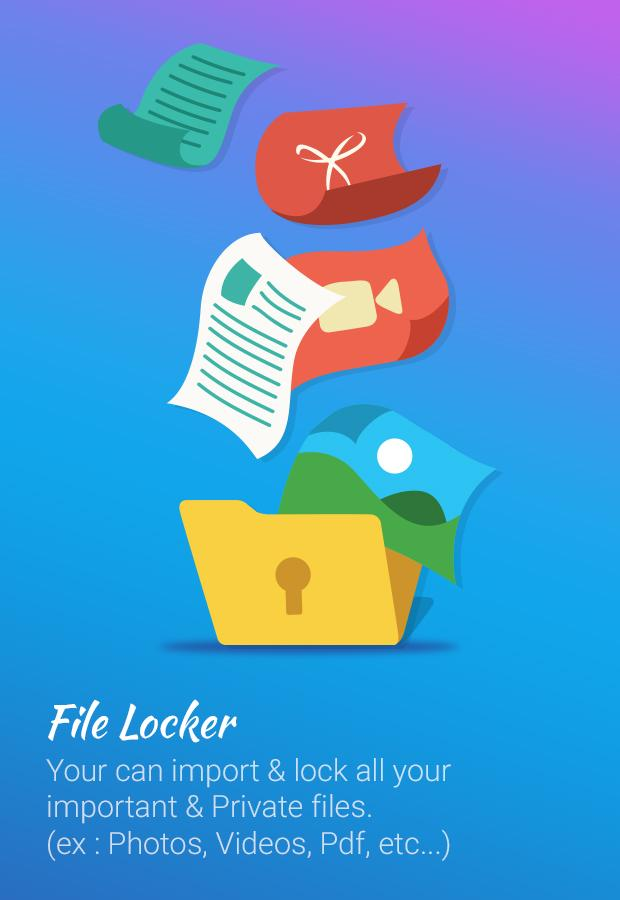 File locker - Lock any File- screenshot