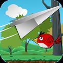 Paper Plane Glider - Forest icon