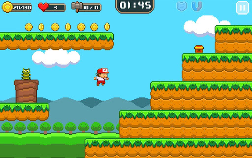 Super Jim Jump - pixel 3d 3.5.5002 screenshots 16