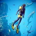 Scuba Diving Simulator - Underwater Survival Games icon