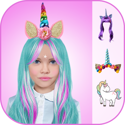 Unicorn Photo Game Icon