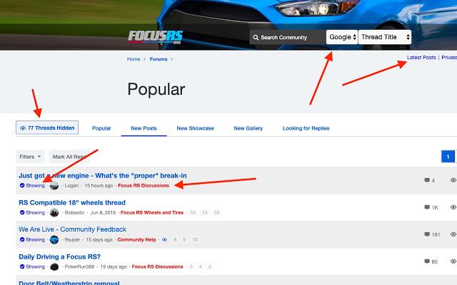 Focus RS Site Extension