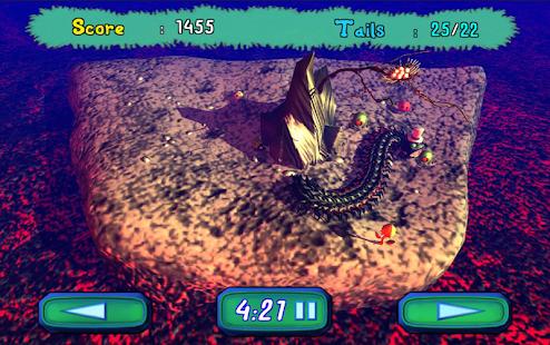Snake 3D Scolopendra - náhled