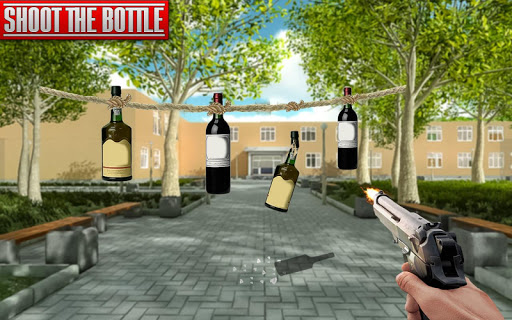 Real Bottle Shooting Free Games  screenshots 1