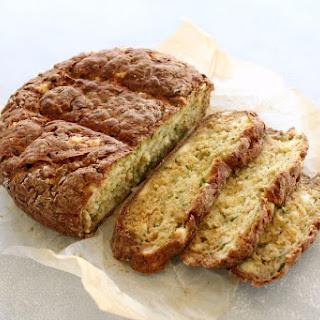 Simple Zucchini Feta Soda Bread.