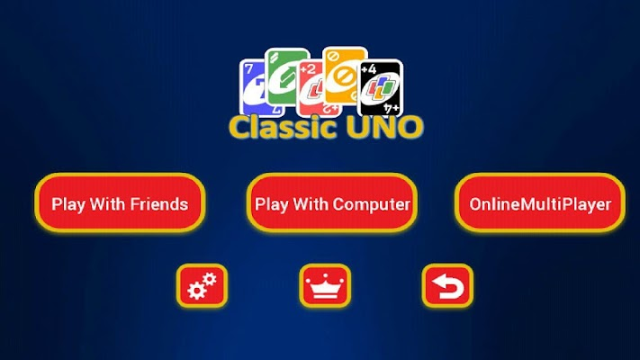 Classic UNO - screenshot