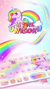 Little-Unicorn-Kika-Keyboard