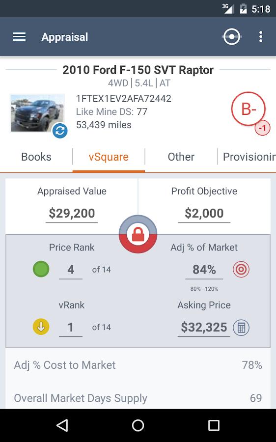 Provision- screenshot