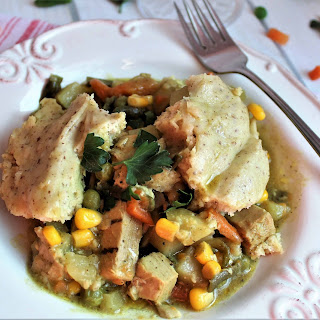 Vegan Chicken Pot Pie – In the Crock Pot!.