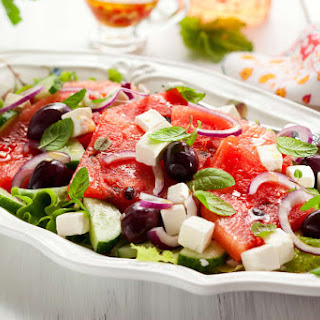 Refreshing Watermelon Feta Salad