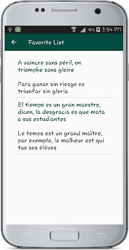 French Spanish Translate 1.1 screenshots 12