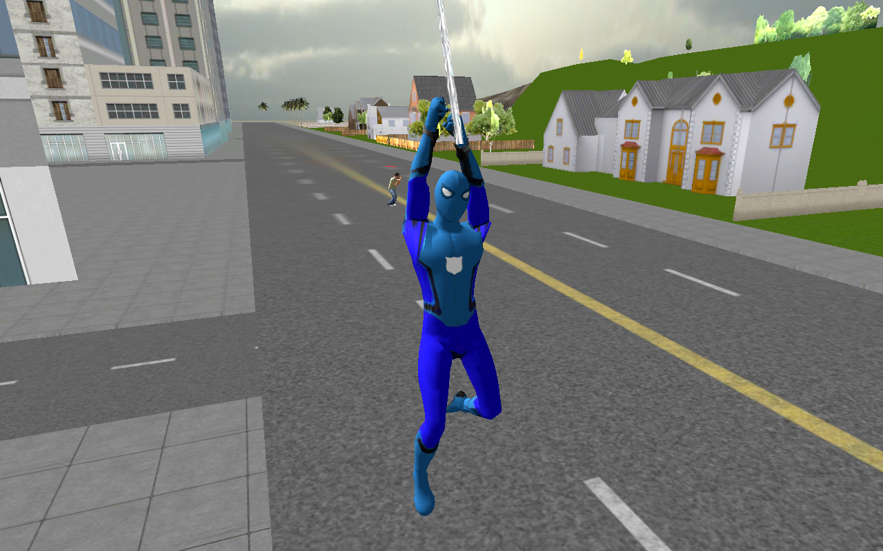Spider Boy San Andreas Crime City- screenshot
