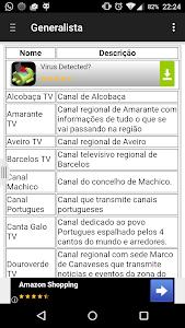 TV channels in Portugal screenshot 1