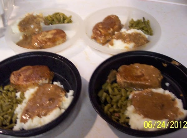 I make these dinners for 3 veterans I know that live alone...Deliver 3. 1...