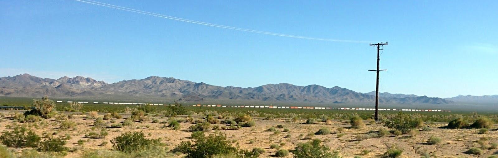 Ruta 66, desierto de Mojave