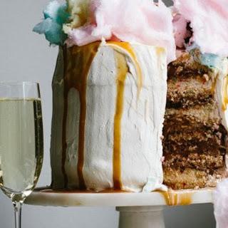 Champagne Funfetti® Ice Cream Cake.