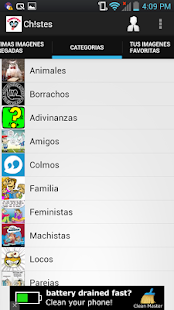 Chistes para Whatsapp- screenshot thumbnail